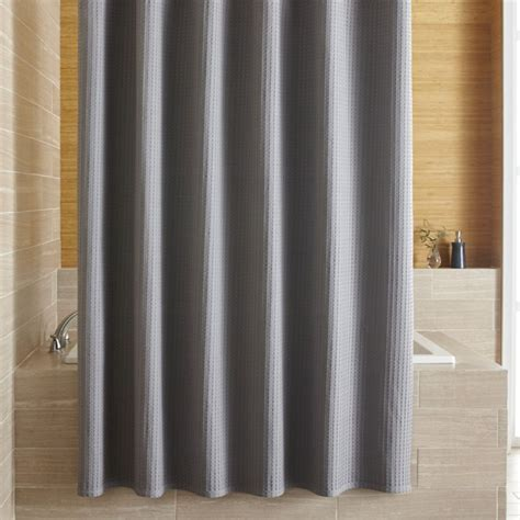 shower curtain grey willow grey shower curtain crate and barrel