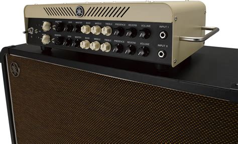 Yamaha Thr100hd & Thrc212 Guitar Amp Stack With Speaker