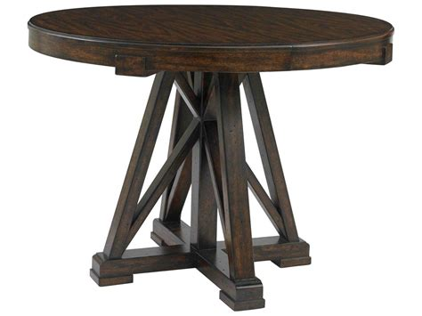 42 round dining table stanley furniture newel date 42 39 39 round pedestal dining