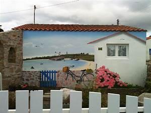 decor trompe oeil peinture en trompe oeil decor trompe With deco mur exterieur maison 7 decoration en trompe loeil en exterieur