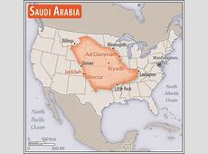 Middle East Saudi Arabia — The World Factbook Central