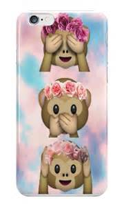 Monkey Emoji iPhone Case