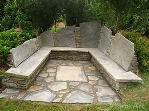 Best 25+ Stone bench ideas on Pinterest | Corner garden ...