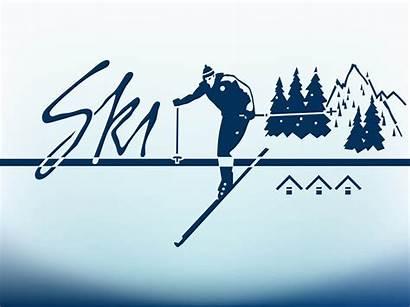 Mountain Skier Skiwochenende Freevector Graphics Balingen Tanzfabrik