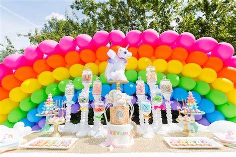 magical unicorn birthday party birthday party kara 39 s party ideas gold rainbow unicorn birthday party