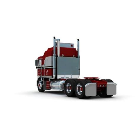The casting has a tow hitch in the back, designed to hook up with a trailer for transport. Kenworth K100 Blueprints - K100 : Kenworth k100 edited by solaris36 v3. - co-cmengineers