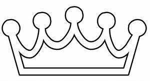 draw princess tiara clipart best With free printable tiara template