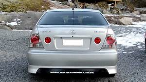 Lexus Is200 - Fog To Tail Light Conversion