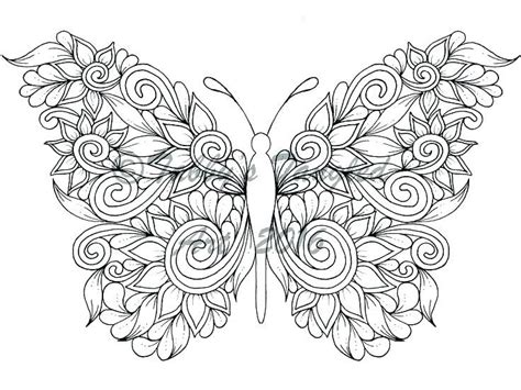 free butterfly coloring pages free mandala coloring pages butterfly mandala coloring