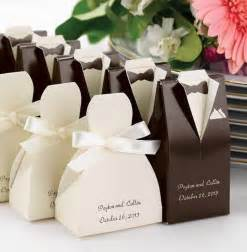 wedding favors in bulk 33 awesome wedding favors for your guests brown tuxedo favors and promotion