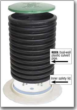 seal  lid  cover fits  dual wall pipe amazoncom