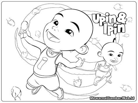 upin ipin printable coloring pages  stephanie coloring