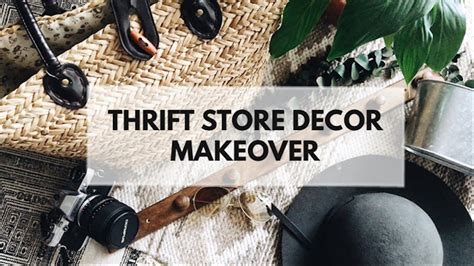 Decorating With Yard Sale And Thrift Store Finds