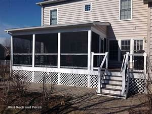 Porches Screened Room Gallery HNH Deck And Porch LLC