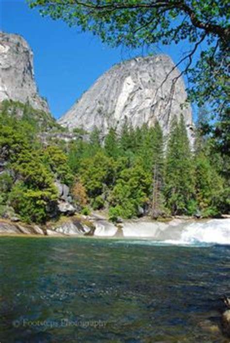 Upper Vernal Fall The Emerald Pool Yosemite Mist