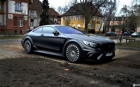 mercedes benz mansory   amg coupe black edition