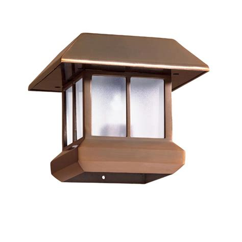 lowes solar post lights deck post lights lowes landscape design