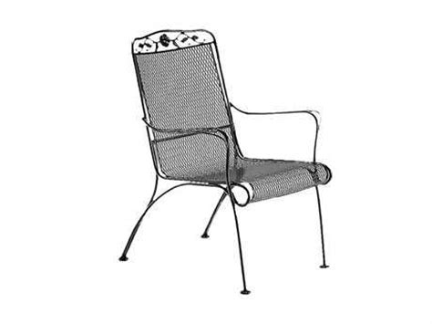 woodard windflower stationary lounge chair replacement
