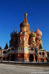 Inside St. Basil's Cathedral Moscow