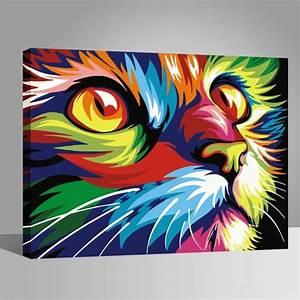 Tableau Moderne Coloré : tableau color animaux qu28 jornalagora ~ Teatrodelosmanantiales.com Idées de Décoration