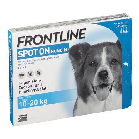 frontline spot  hund  shop apothekeat