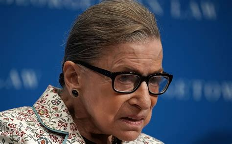 Ruth Bader Ginsburg Hospitalized After Falling, Fracturing Three Ribs