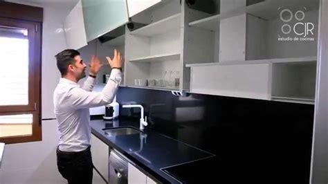 cocina moderna frente silestone negro youtube