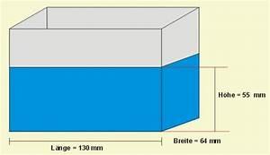 Wasservolumen Berechnen : versuch mit wasser ~ Themetempest.com Abrechnung