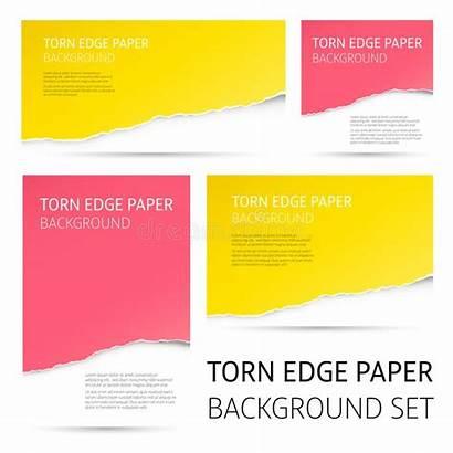 Torn Edge Paper Gescheurde Achtergrond Carta Fondo