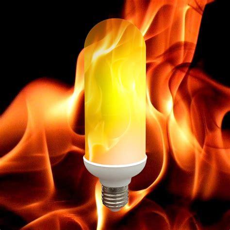 led flame light bulbs e27 led flame effect fire light