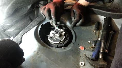 change replace fuel pump peugeot  amateur