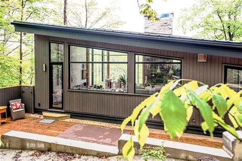 ide populer  rumah atap miring satu sisi