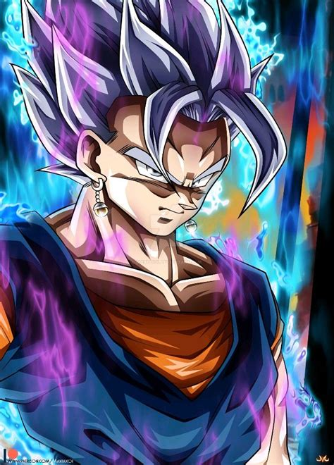 vegetto ultra instinct mastered dragon ball super