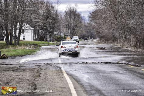 spring flooding    brunswick