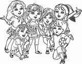 Dora Coloring Friends Pages Into Gotham Marble Printable Skyline Drawing Anita Curry Steph Nba Getcolorings Cartoon Nick Jr Sheets Getdrawings sketch template