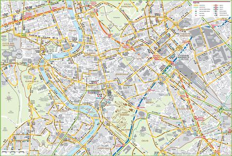 rome city centre map