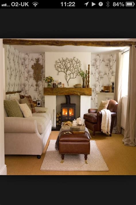 Ideas For Living Room For Small Rooms by Snug Room Two Big Sofas Tv And Fireplace All That Is