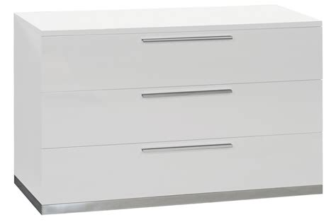 chambre meuble blanc meuble commode laqué blanc design trendymobilier com
