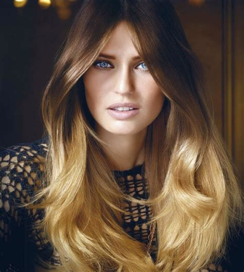 bianca balti   preference wild ombres  loreal