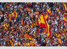 Spain's National Day sees protests against Catalonia's bid