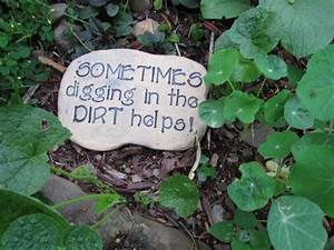 Therapy advice on funny outdoor engraved garden stone sign ...
