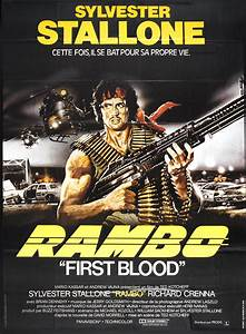 Rambo: First Blood film poster | Movie Night | Pinterest ...