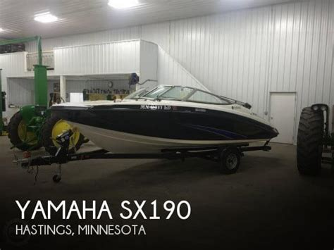 Yamaha Jet Boat Dealers Minnesota by For Sale Used 2014 Yamaha Sx190 In Hastings Minnesota
