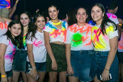 Graffiti Neon Party 2019 Alumnos Escuela Internacional