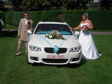 decoration mariage pour voiture d 233 co voiture pour mariage bmw serie3