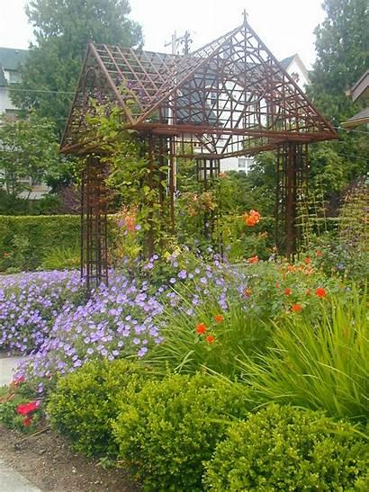 Mediterranean Garden Formal Gardens Landscapes Study Case