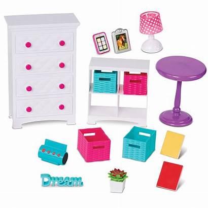 Doll Walmart Bedroom Pieces American Play Sets