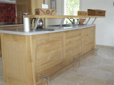 cuisine chene clair contemporaine graine d 39 olive réalisations cuisine loft chêne clair