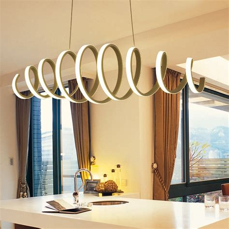 led pendant lights for kitchen island aliexpress buy creative modern led pendant light 9687
