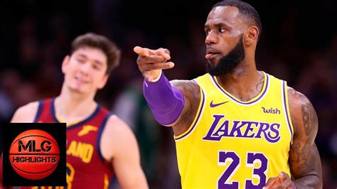 los angeles lakers  cleveland cavaliers full game